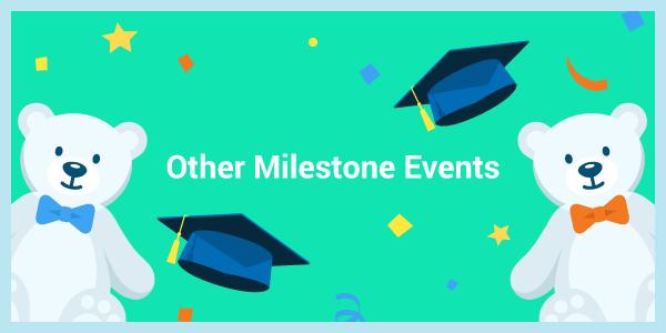 milestone events graphic