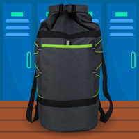 water-resistant bag graphic