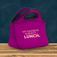 My favorite subject lunch lunch bag