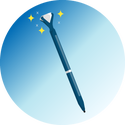 gem pen graphic