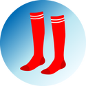 knee high socks graphic