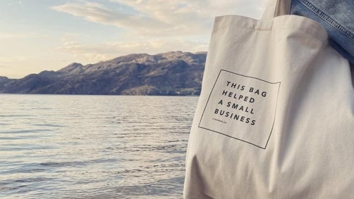 Tote bags for small businesses
