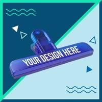 Bag clip graphic
