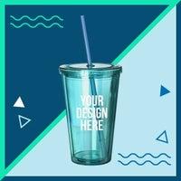 Drink tumbler graphic