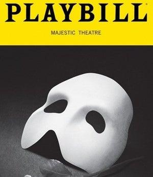 Phantom of the Opera playbill