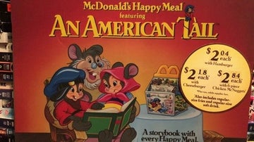 An American Tail Happy Meal