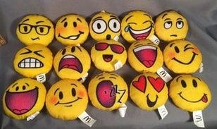 Emojis Happy Meal toys