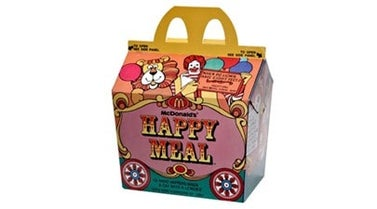 First Happy Meal 1979