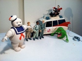 Ghostbusters Happy Meal toys