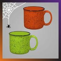 Halloween campfire mugs
