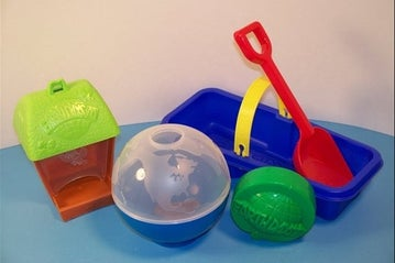 McDonald's Earth Day toys