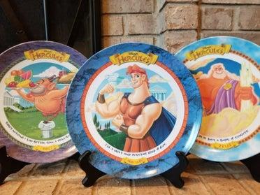 McDonald's Hercules plates