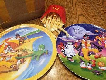McDonald's plates 1990s