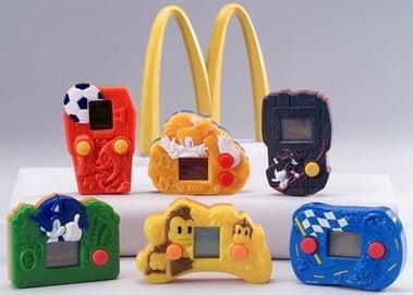 McDonald's Sega Handhelds