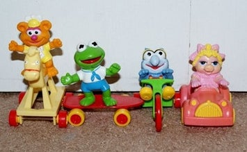Muppets Happy Meal toys