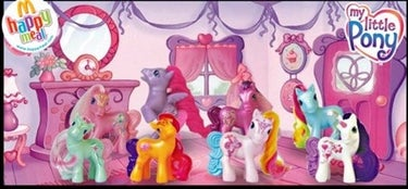 My Little Pony Happy Meal toys