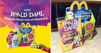 Roald Dahl books McDonald's