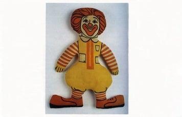 Ronald McDonald Doll 1970