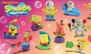SpongeBob Happy Meal toys