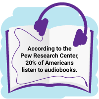 Stat about audiobooks
