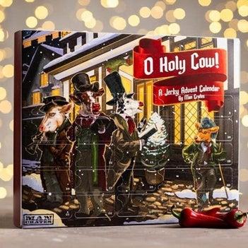 Beef jerky advent calendar