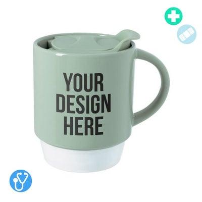 custom coffee mugs with lids