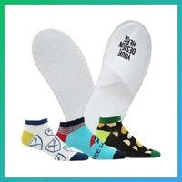 custom slippers and socks
