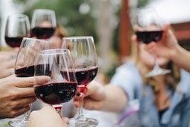 when were wine glasses invented