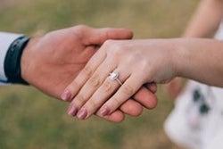 sanitize diamond rings