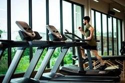 sanitize exercise equipment