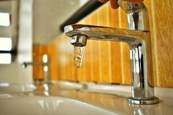 sanitize faucets