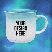custom gradient mug