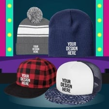 custom hats for bands and concerts