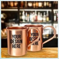 custom moscow mule mugs