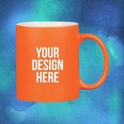 custom neon mug