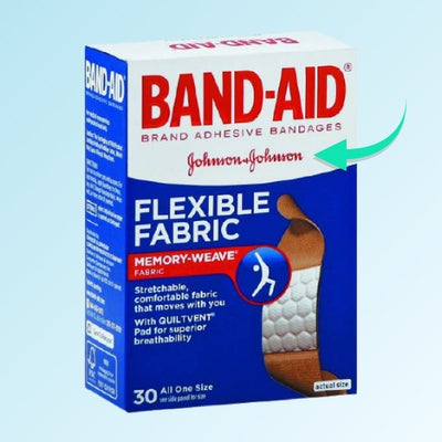 band-aid is a trademarked name