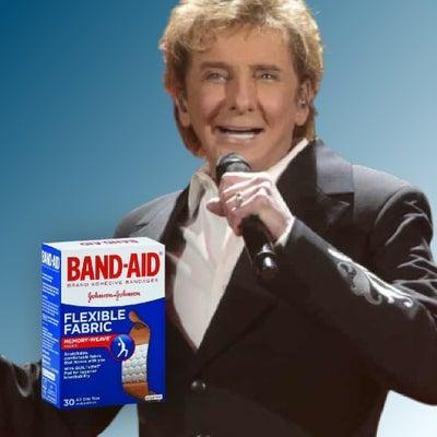barry manilow band-aid jingle