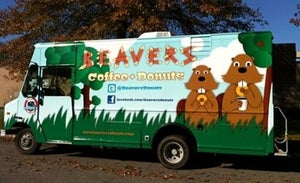 Beaver's Donuts food truck Chicago