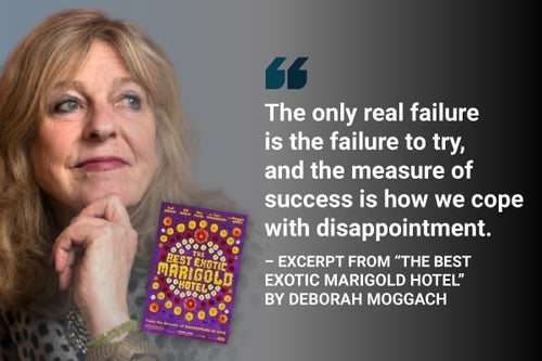 the only real failure is the failure to try the best exotic marigold hotel