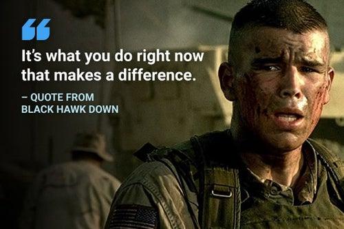 black hawk down quote