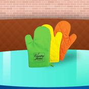 custom oven mitts