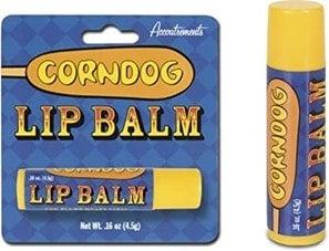 corn dog lip balm
