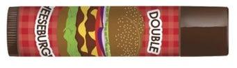 double cheeseburger lip balm