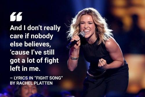 fight song rachel platten lyrics
