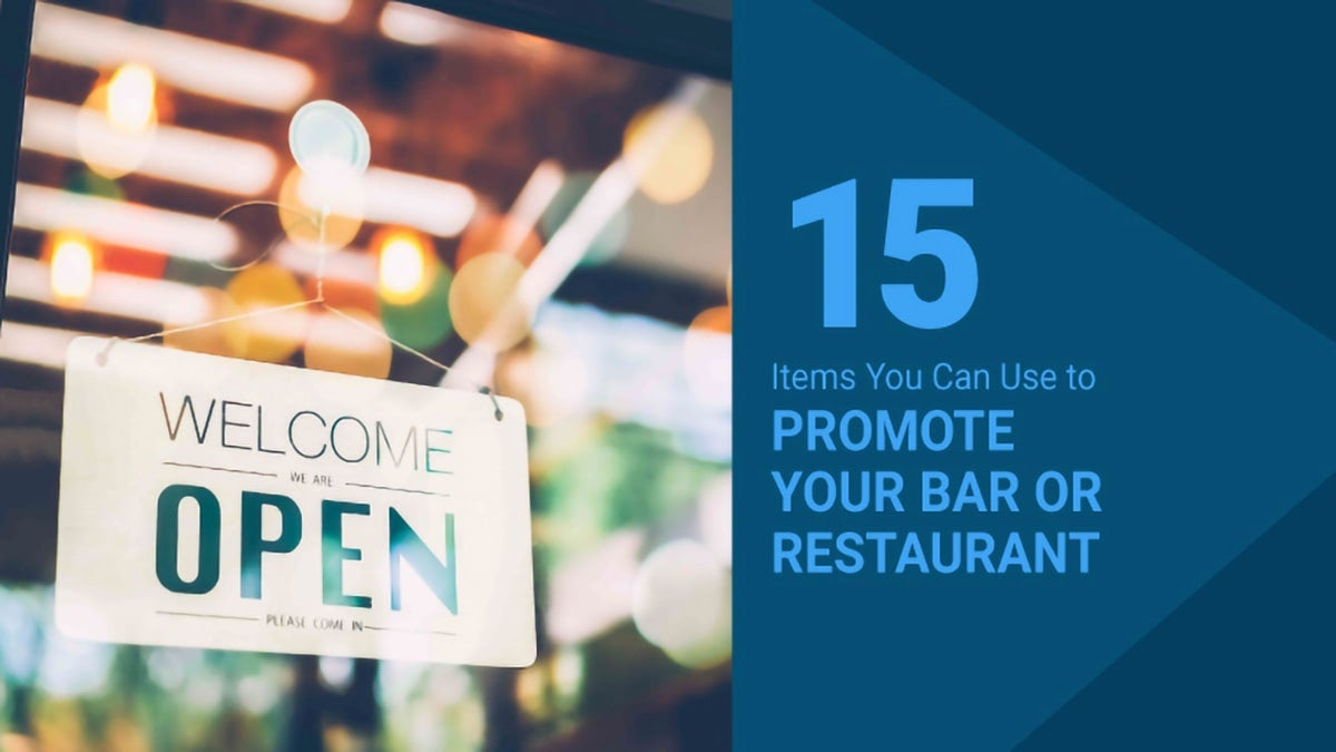 items-to-promote-a-bar-or-restaurant