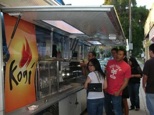Kogi BBQ food truck Los Angeles