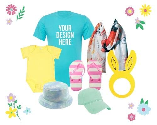 custom Easter clothing