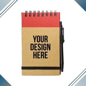 custom mini notebook