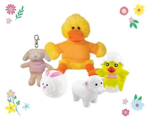 Easter animal toys