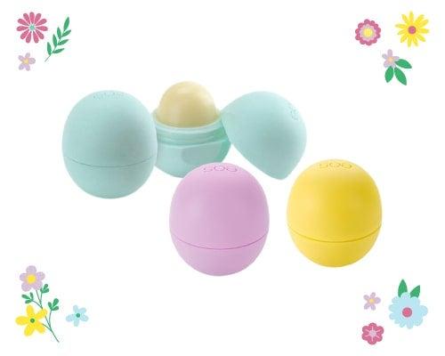 lip balm eggs for Easter